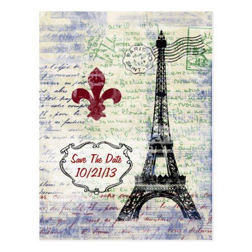 Как послать открытку из парижа, началом отпуска