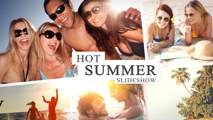 Hot Summer Slideshow After Effects Template Youtube Hot Summer Special Images Photo Slideshow