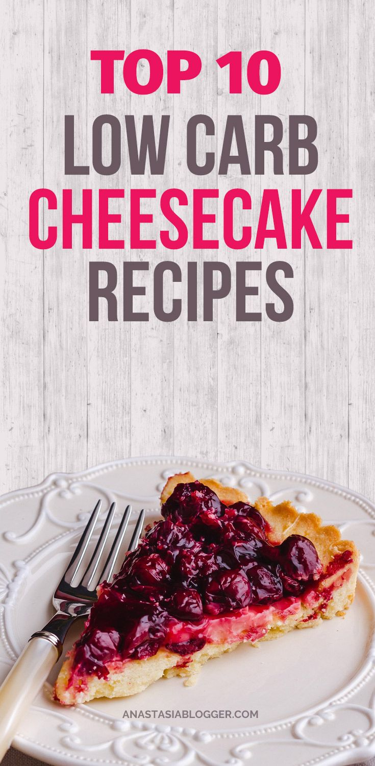Check Top-10 low carb cheesecake recipes including easy low carb cheesecake no bake and keto options. No sugar low carb cheesecakes diabetic friendly. Low carb cheesecake bites for people on the Ketogenic diet. #lowcarb #keto #cheesecake