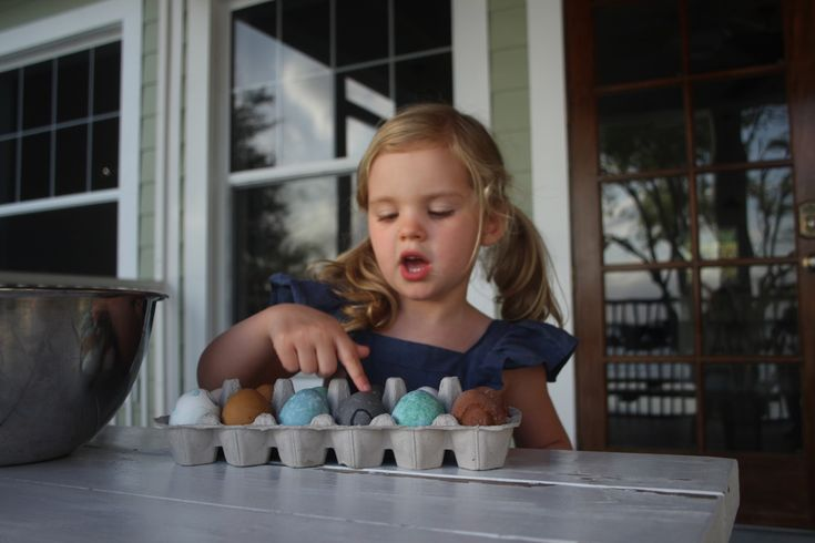 Natural Egg Dyeing for Easter