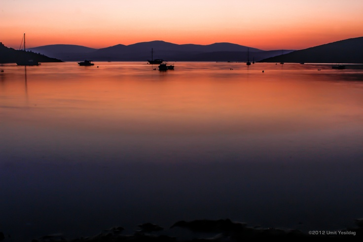 Sunset on the Bay of Sigacik