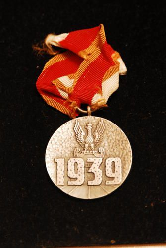 Polish medal for 1939.