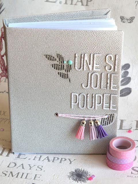 """Le scrap d 'Opsite: Mini album """"une si jolie poupée"""" en Studio Tekture..."""