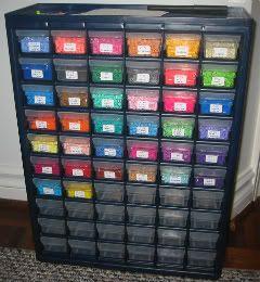 Perler bead storage by DropDaBead
