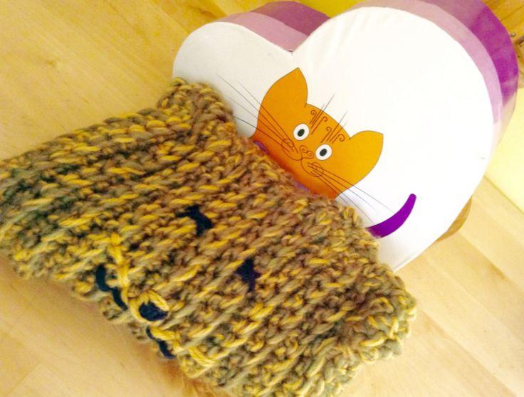 #catcap #lana #blanka #artigianatoresistente CATCAP, cappello gatto in lana verde e senape : Cappelli, berretti di blanka-artigianatoresistente