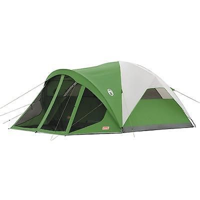 Camping Tent Screened 6 Person Outdoor Family Shelter Hiking Waterproof Windows