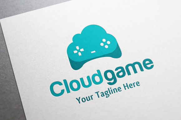 Cloud Game Logo by gunaonedesign on Creative Market