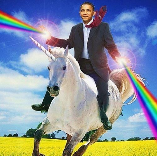 My vision of Barack Obama!