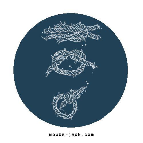 Significato Tatuaggio Nodo Falcata Wobba-Jack Tattoo Art