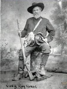 "Judge Roy Bean, who declared himself to be ""The Law West of the Pecos"" - #OldWest #WildWest"