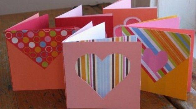 Românticos cartões de papel - Bolsa de Mulher