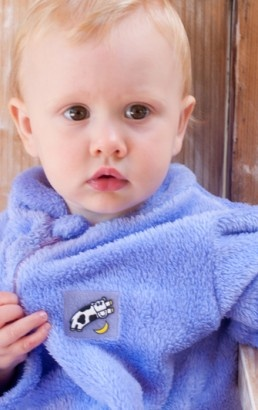 Made in South Africa kiddigrows: one-piece fleece pyjamas. So hard to find toddler sizes, this is great!