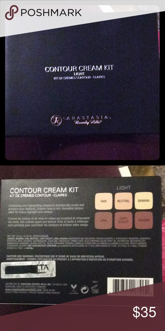 ABH cream contour kit Brand new, never opened. Retails for $40. Anastasia Beverly Hills Makeup Foundation