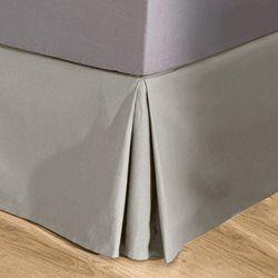 Funda de somier de tela de algodón de loneta SCENARIO - Cubre somier
