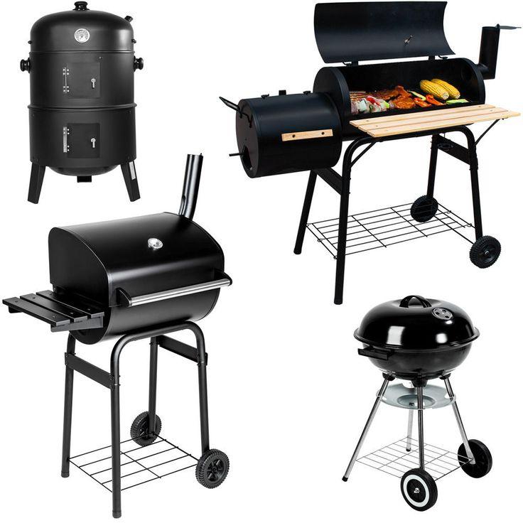 BBQ Grill a legna e carbone Barbecue Smoker Carbonella Griglia   Giardino e arredamento esterni, Barbecue e riscaldamento, Barbecue e griglie   eBay!