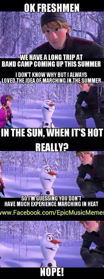 I'm not too fond of using frozen for everything... But this is perfect.