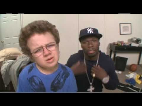 """Really smart idea for 50 Cent's reputation back in the day. Check out """"Down On Me (Keenan Cahill and 50 Cent)"""""""