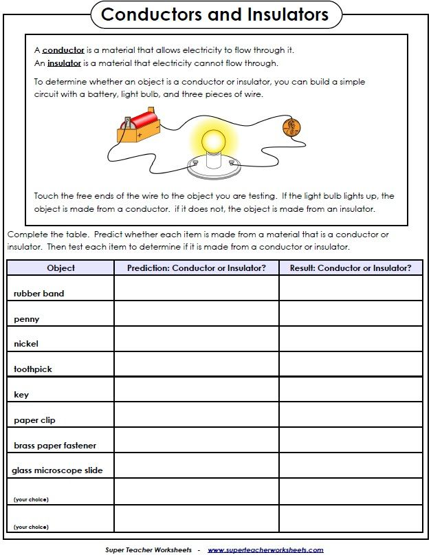 Printables Super Teacher Worksheets Science 1000 images about science super teacher worksheets on pinterest test various household objects to see if they conduct electricity