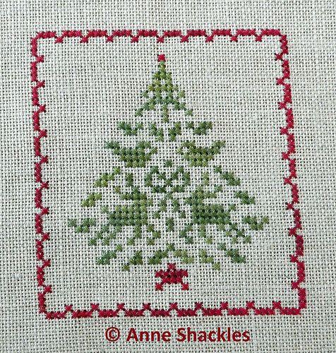JBW Designs-Christmas Keepsakes II Tiny Motif Tree   Flickr