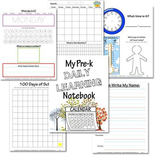 Kindergarten Calendar Activities Worksheets : Best preschool activites images on pinterest