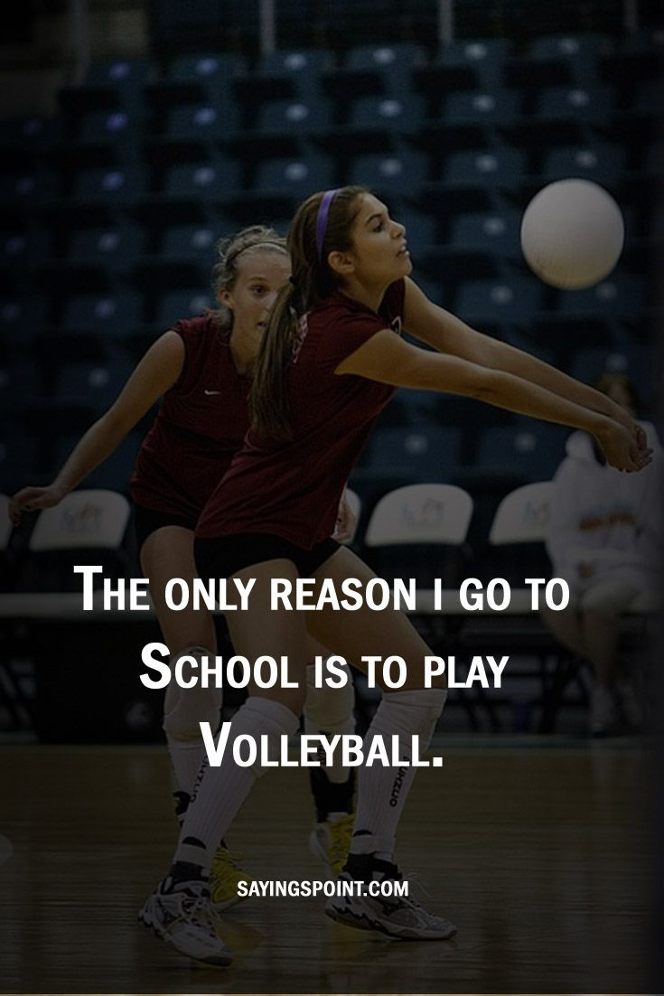 Pin On Volleyball Quotes And Sayings