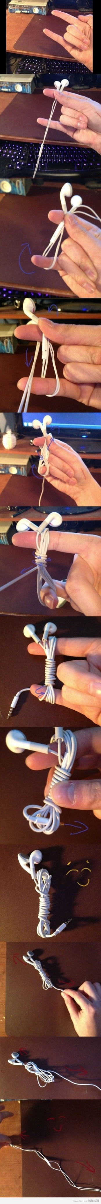 hmm so thats how to keep my headphones normal lol