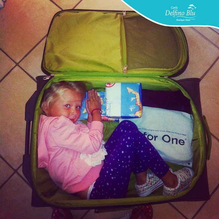 Are you sure you've unpacked everything? #DelfinoBlu, #Suitcase, #Family Amazingly fun photo by @p_july