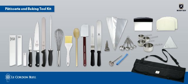 Le Cordon Bleu Pastry Arts  Tool Kit