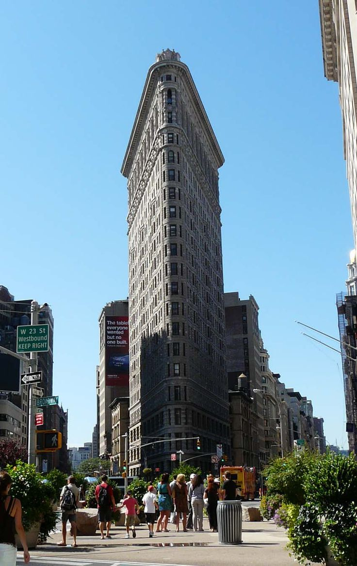 The Flat Iron, le premier bulding de New-York en 2011