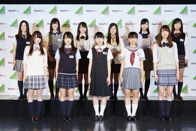 """""""けやき坂46""""(ひらがなけやき)の最終オーディションに合格した11名のメンバー"""