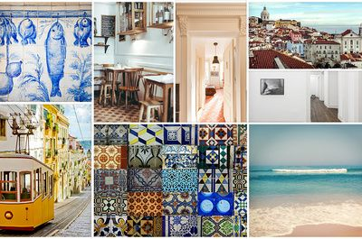 With a nightlife to rival Havana, tramways and bridges like San Francisco, renovated docks like London, and the Alfama district with more than a hint of the medinas of the Maghreb, Libson is a trip around the world all in one city. Only a two hour flight away from Paris, it's the ideal destination for soaking up the last rays of summer on a long weekend. Don't leave without a look at the Vogue address book first.