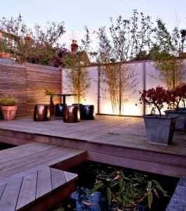 M s de 1000 ideas sobre peque os estanques en pinterest - Pequenos jardines con encanto ...