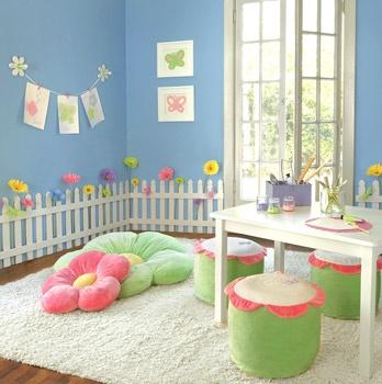 Little girls tea party room :)