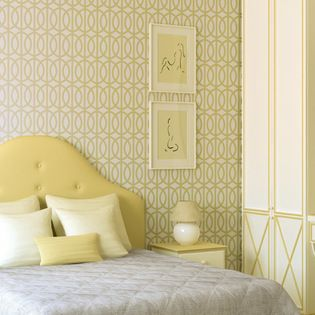 Stencil Ease - Trousdale Wall Painting Stencil - Quickly and easily create a comfortably classic ambience in your home with this Trousdale Wall Painting Stencil! This detailed, laser-cut stencil is a professional designer's dream along with our production size stencils with additional repeats for the installation team. Our laser-cutting produces crisp, clean smooth edges. We suggest you visit your local paint store for color ideas using contrasting colors or even trying a semi-gloss urethane…