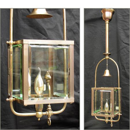 Sharing is caring!  L11396 - Antique Gas Hall Lantern Ceiling Light Fixture #https://www.pinterest.com/munlimited/
