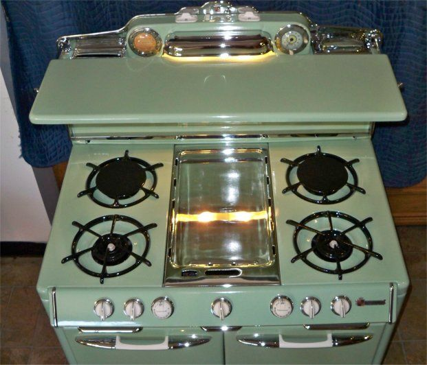 Stove With Griddle In The Middle ~ Best images about o keefe and merritt on pinterest