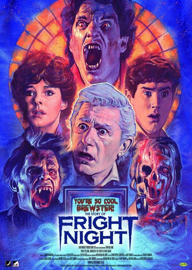 You're So Cool, Brewster! The Story of Fright Night (Blu-ray), UK import Confira os nossos artigos dedicados aos Filmes de Terror em http://mundodecinema.com/category/filmes-de-terror/