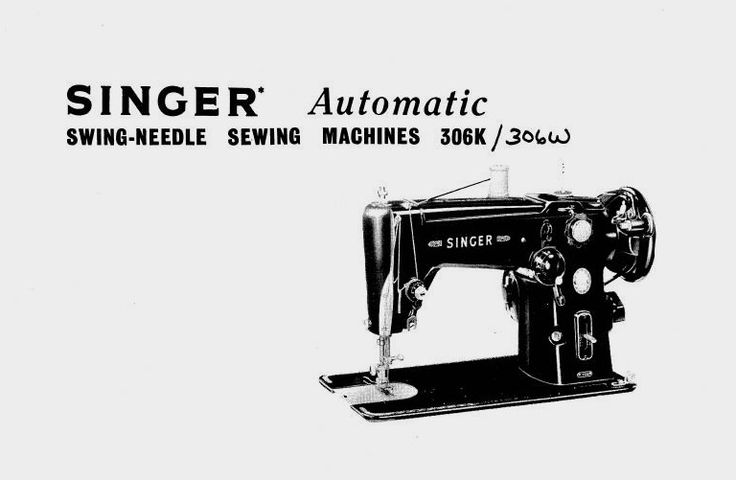 SINGER AUTOMATIC 306K INSTRUCTIONS FOR USING MANUAL Pdf