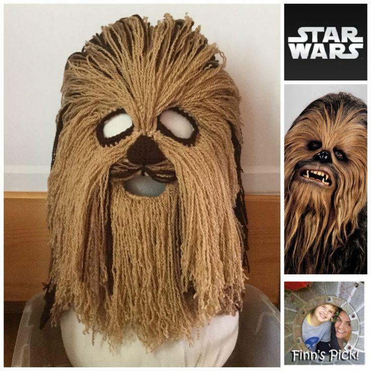 Finn's Pick: Christina Hooper's Crazy-Cool Crochet Chewbacca Mask