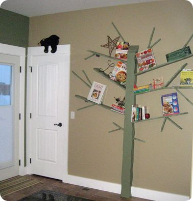 How To Make Your Own Tree Bookshelf For The Home