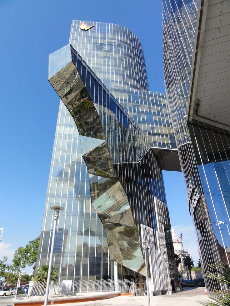 Torre Mare Nostrum. Barcelona. Spain.