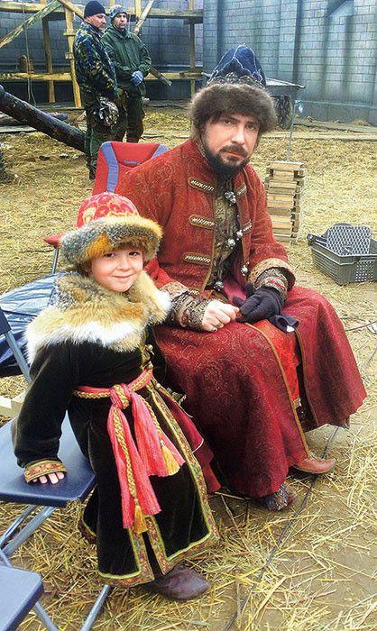 Съемки исторического сериала «София Палеолог»- shot series about life in Moscow in the 15th century