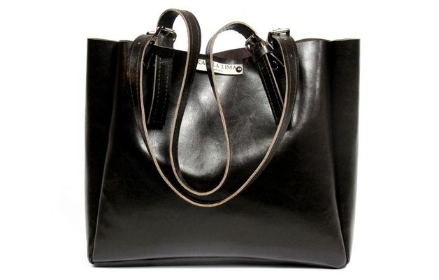 Miss ELLE -real leather bag by KAMILA LIMA bags and more