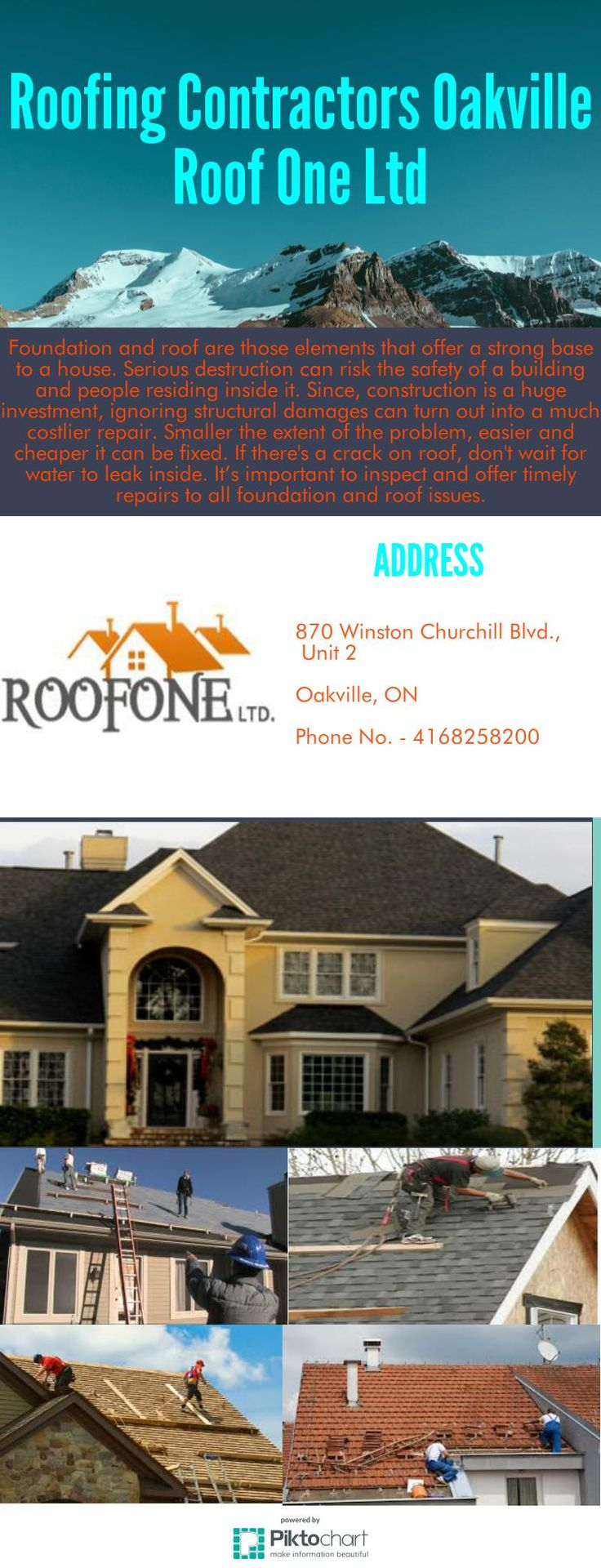 Single storey home flat roof future vertical expansion 6 social side - Roof One Ltd Is An 15 Years Experienced Roofing Contractor In Oakville We Also Provide Appropriate Advice For Material As Per Architecture