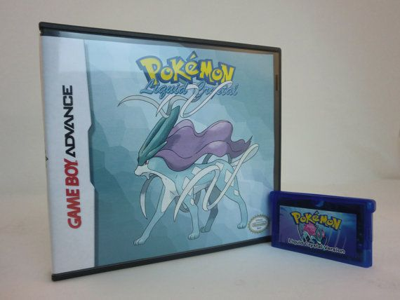 Pokemon Liquid Crystal For The Game Boy by 8bitevolutiongaming