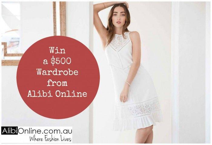 Win a $500 Wardrobe from Alibi Online