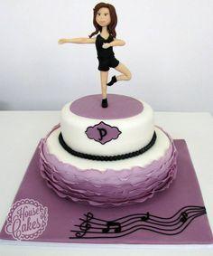 Jazz Dance Cake so cool                                                                                                                                                      More