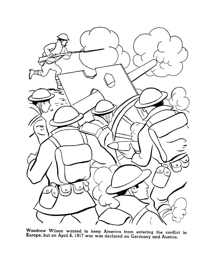 World War 2 Coloring Books Captain America Coloring Pages
