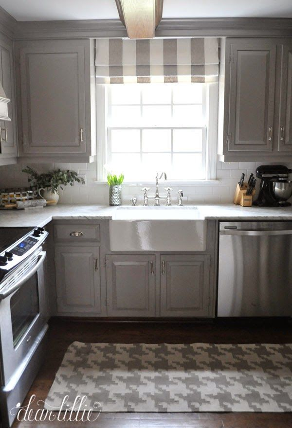 The Finishing Touches on Our Kitchen Makeover (Before and Afters) by Dear Lillie