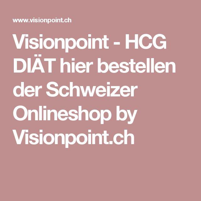 Visionpoint  - HCG DIÄT hier bestellen der Schweizer Onlineshop by Visionpoint.ch